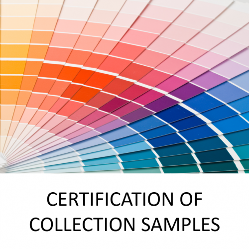 certification col samples