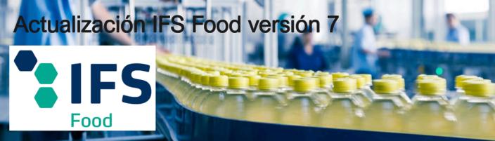 IFS Food cambios versión 7