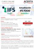 Actualización IFS Food Versión 7